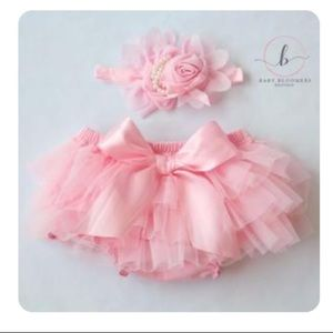 Other - Tutu Bloomers + headband/1 yr birthday/cake smash